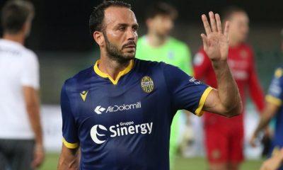 Giampaolo Pazzini con la maglia del Verona.